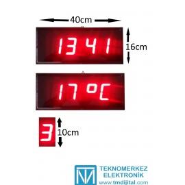 100 mm Disp. Dij. Hamam Saati, Kasa: 16x40 cm