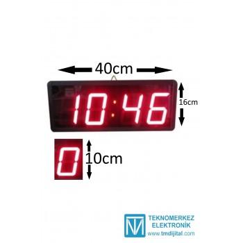 100 mm Disp. Dijital Saat, Kasa : 16x40 cm