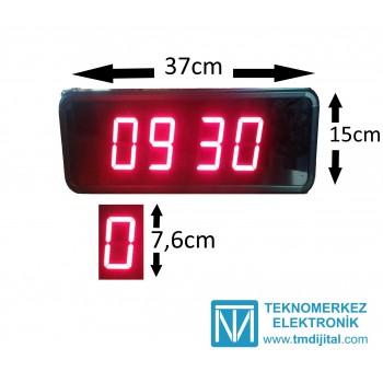76 mm Disp. Çift Yön Saat Derece, Kasa: 15x37  cm
