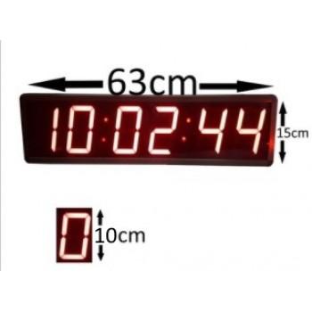 15x63cm Saniyeli Dijital Saat Derece