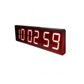 100mm Displayli Saniyeli Dijital Saat Derece, Kasa:15x63cm