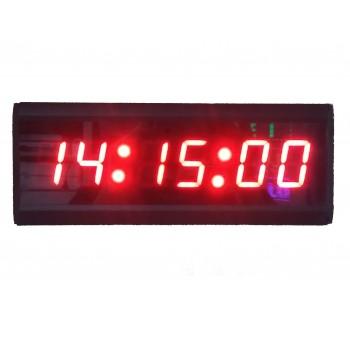 38 mm Displayli Saniyeli Dijital Saat, Kasa: 7x26  cm