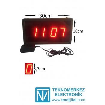 Şarj Edilebilir Dijital Saat Kasa Ölçüsü: 18cmx30cm