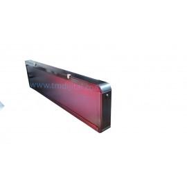 76 mm Displayli Saniyeli Dijital Saat Derece Kasa: 17x50 cm