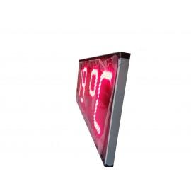 Led Dijital Saat Termometre (Derece) Kasa Ölçüsü:80x30 cm