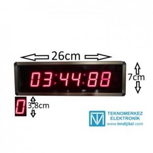 Kronometre Sn & Dk Sayıcı Kasa Ölçüsü: 7x26 cm