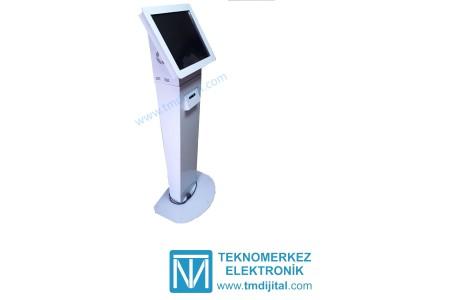 Dokunmatik Ekranlı Bilgisayarlı Kiosk (Termal Yazıcı Dahil)