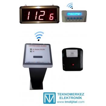 Kablosuz Senkron Noter Sıramatik (Numaratör) Sistemi